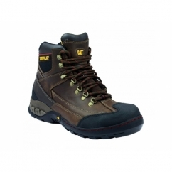 DYNAMITE Mens Oil Resistant Safety Boots Brown