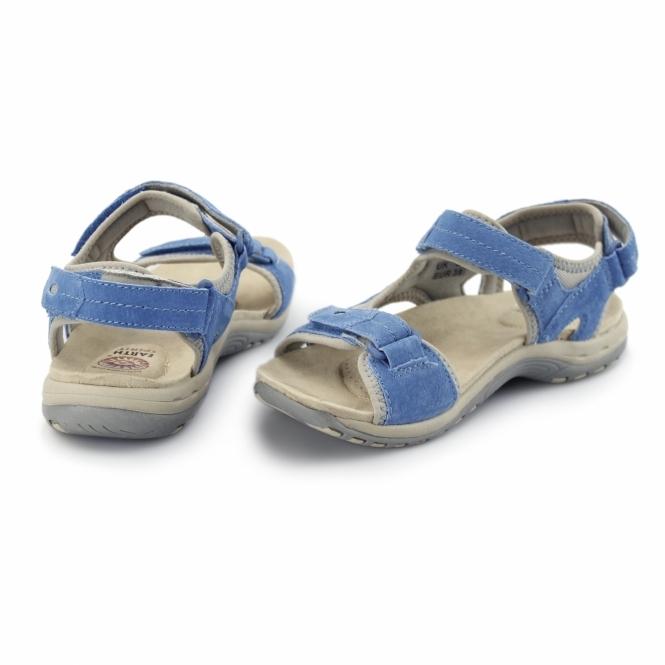 2e6755e32181d Earth Spirit ARLINGTON Ladies Casual Summer Sandals Cyan Blue