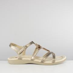 7a5323b8071e Earth Spirit CAPE CORAL Ladies Touch Fasten Strappy Sandals Platinum