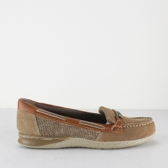 Earth Spirit ST LOUIS Ladies Loafer Shoes Molasses Brown