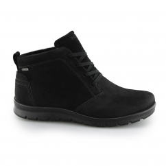 ECCO BABETT Ladies Nubuck Leather Ankle Boots Black