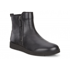 BELLA BOOT Ladies Leather Zip Up boots Black