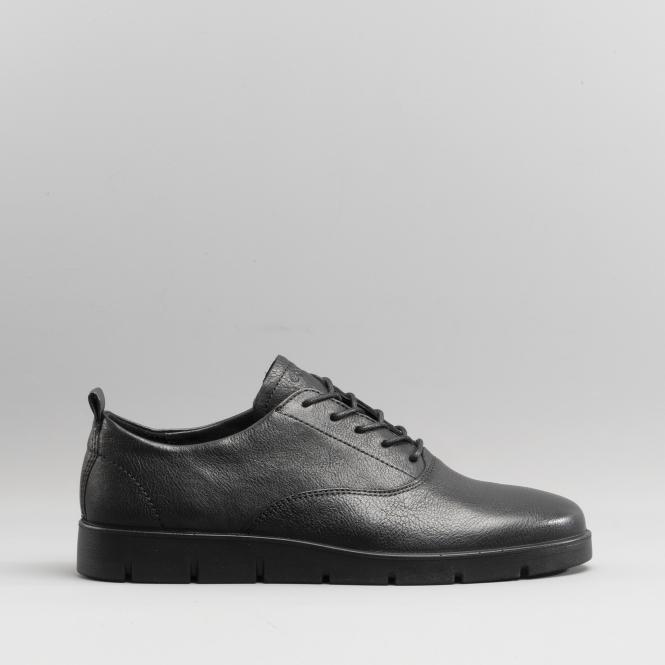 743da93d47 BELLA Ladies Leather Lace Up Shoes Black