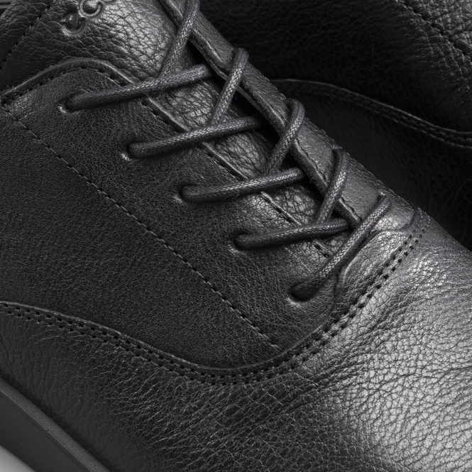 53341e9f94 ECCO BELLA Ladies Leather Lace Up Shoes Black   Shuperb