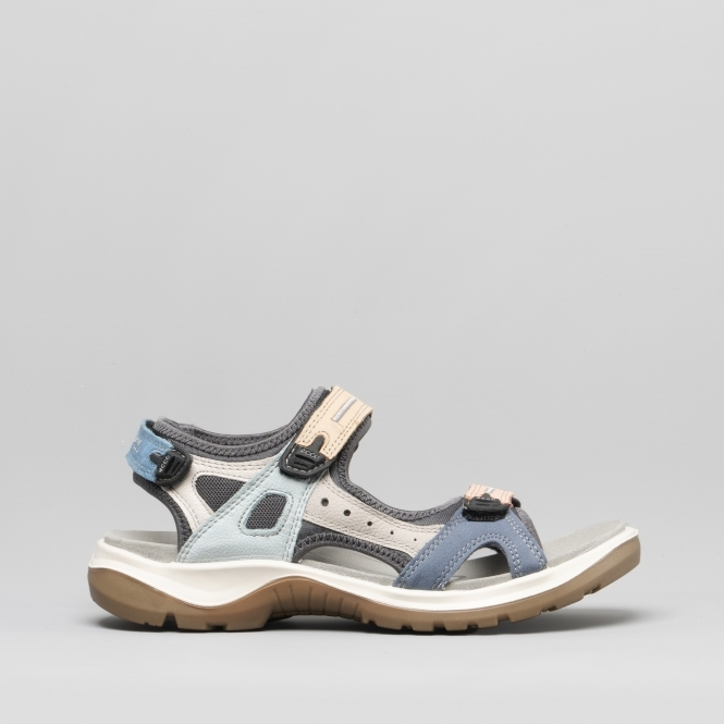 OFFROAD Ladies Leather Sandals Multicolour