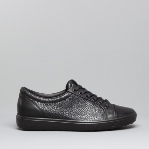 9585786c05109 SOFT 7 Ladies Leather Casual Trainers Black Black
