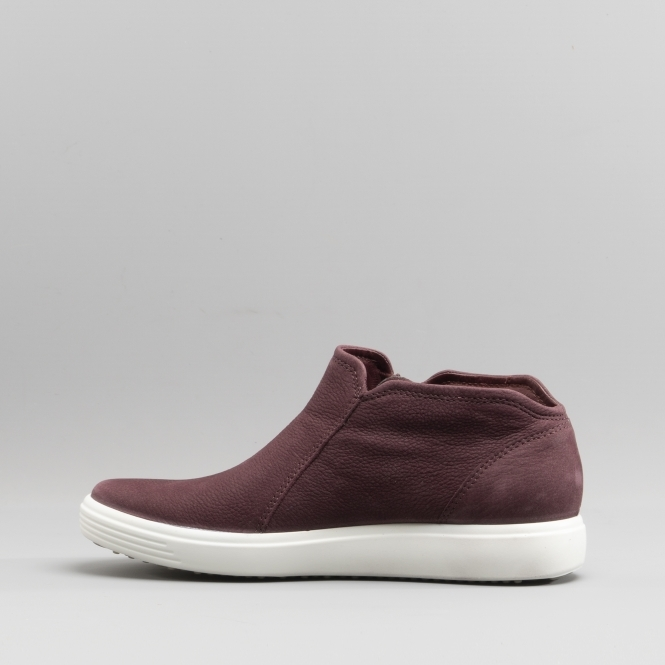 2ff25237be7d2 ECCO SOFT 7 430243-01070 Comfort Trainers Bordeaux | Shuperb