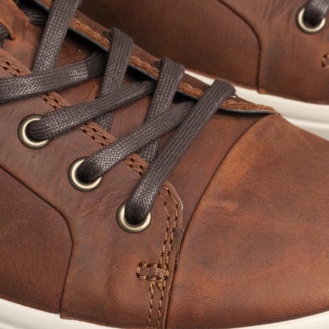 3132f217d2 SOFT 7 Mens Leather Trainers Cognac