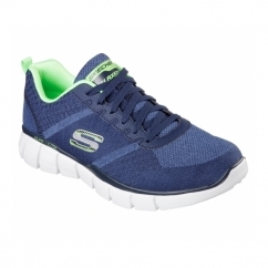 EQUALIZER 2.0 - TRUE BALANCE Mens Trainers Navy/Lime