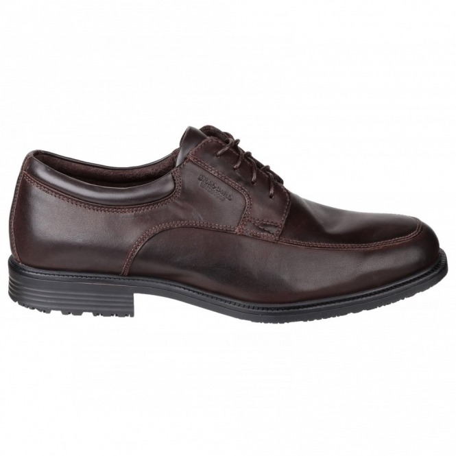 Rockport ESSENTIAL DETAILS WP APRON Mens Leather Shoes Brown