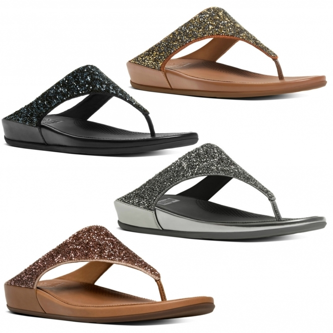 80c1e44fa03ad8 ... FitFlop™ BANDA CRYSTAL™ Ladies Toe Post Embellished Sandals Rose Gold  fashion styles 90a4a c3e1d ...