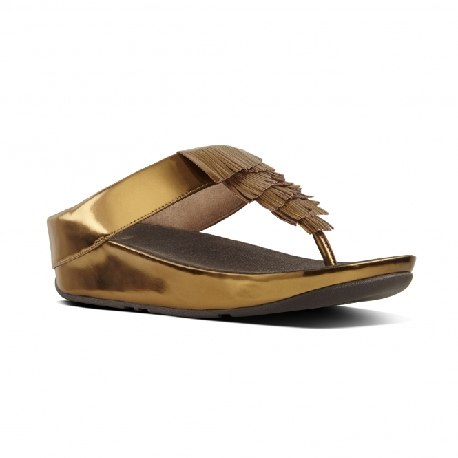FitFlop™ CHA CHA™ Ladies Faux Leather