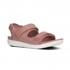 FitFlop™ NEOFLEX™ Ladies Back Strap Touch Fasten Sandals Dusky Pink