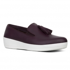 TASSEL SUPERSKATE™ Ladies Leather Loafers Deep Plum