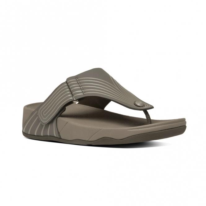 FitFlop™ TRAKK II POOL™ Mens Toe Post Adjustable Flip Flops Bungee Cord