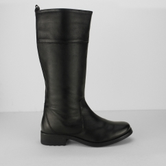 Fleet & Foster DORCHESTER Ladies Mid Calf Boots Black | Shuperb