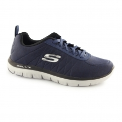 Skechers FLEX ADVANTAGE 2.0-CHILLSTONE Mens Sports Trainers Navy