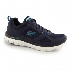 FLEX ADVANTAGE 2.0 Mens Sports Trainers Navy/Blue