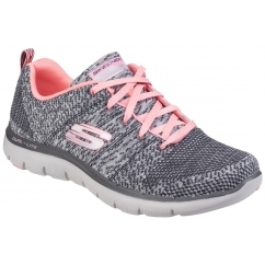 FLEX APPEAL 2.0 HIGH ENERGY Ladies Trainers Charcoal/Coral