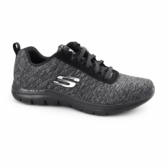 FLEX APPEAL 2.0 Ladies Sports Trainers Black/Charcoal