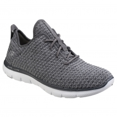 Skechers Flex Appeal 2.0 Bold Move Ladies Trainers Charcoal