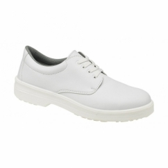 FS51 Unisex S1 SRC Hygiene Lace Up Safety Shoes White