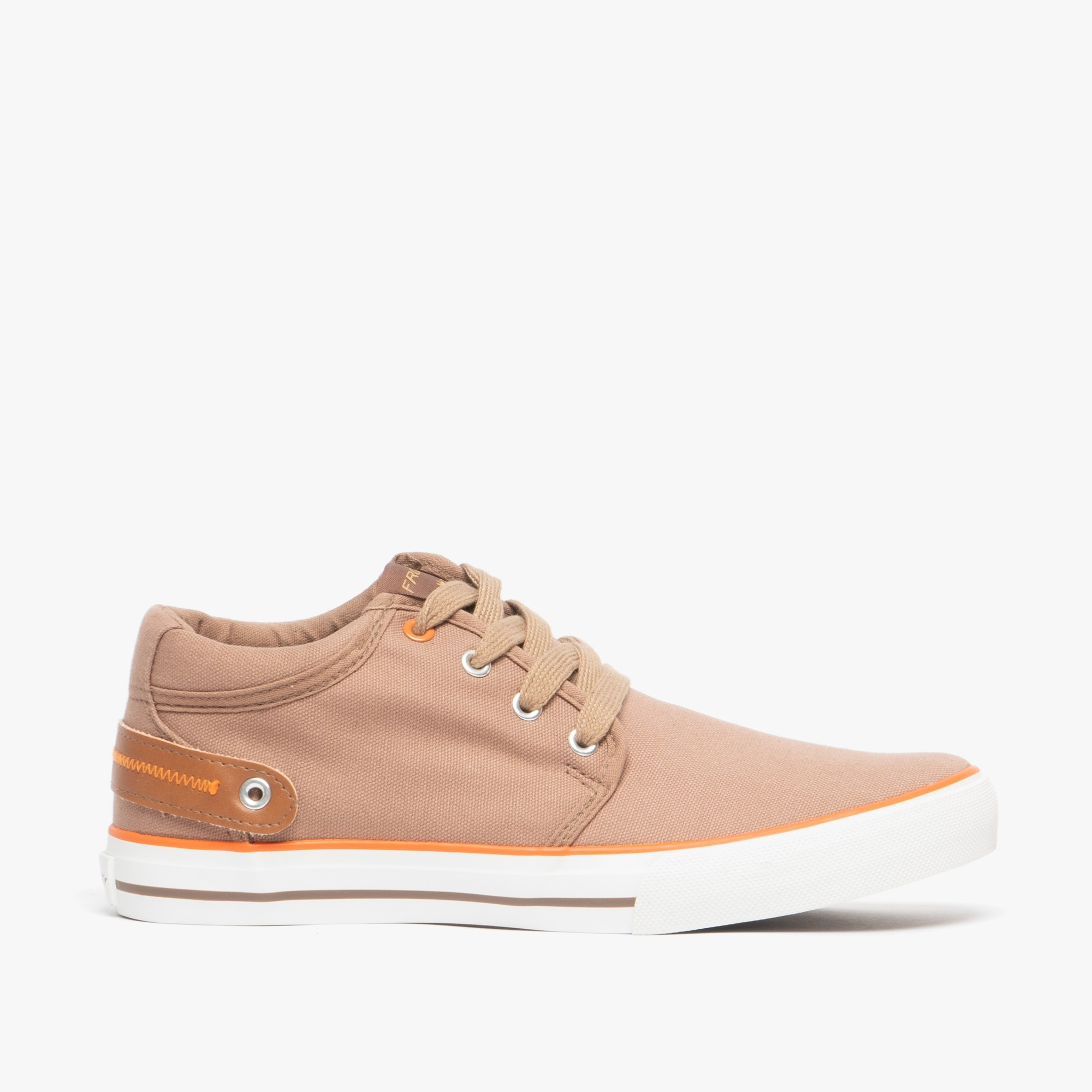 Front REEF Mens Soft Canvas Lace-Up
