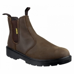 FS128 Unisex SB Safety Boots Brown