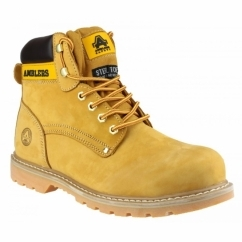 FS156 Unisex SB Safety Boots Honey