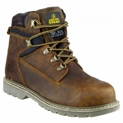 FS162 Unisex SB Safety Boots Brown