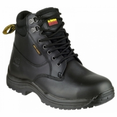 FS205 DRAX Unisex S1 HRO Safety Boots Black