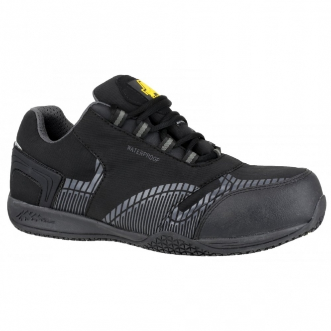 Amblers Safety FS29C Mens S3 Safety Trainers Black