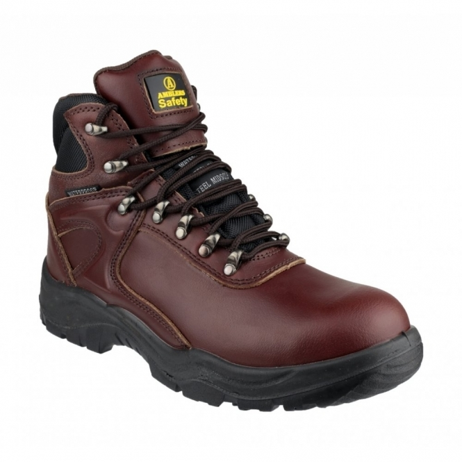 Amblers Safety FS31 Unisex S3 WP Safety Boots Brown