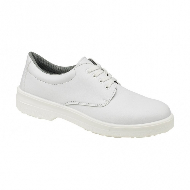Footsure FS51 Unisex S1 SRC Hygiene Lace Up Safety Shoes White
