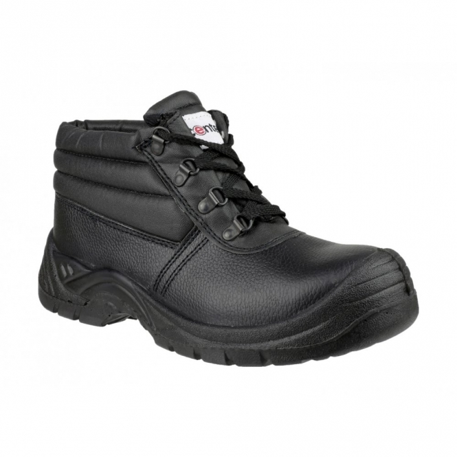 Centek FS83 Mens Safety Chukka Boots Black