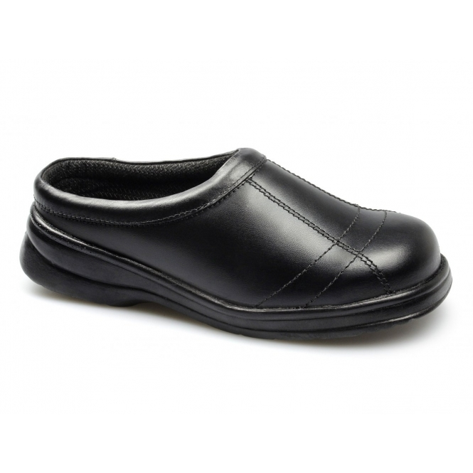 Footsure FS93C Ladies S1 SRC Slip-On Safety Shoes Black