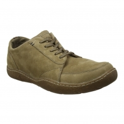 Hush Puppies FURMAN SWAY Mens Lace Shoes Taupe