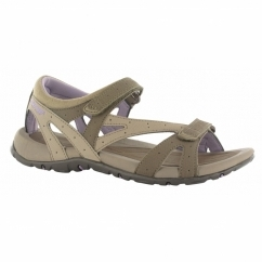 GALICIA STRAP Ladies Sports Sandals Taupe/Elderberry