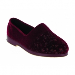 ZOLA Ladies Full Slippers Red