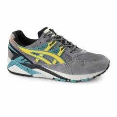GEL-KAYANO TRAINER Mens Trainers Grey/Gold Fusion
