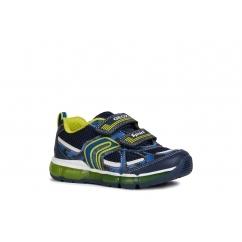 Boys Shoes Dark Tan Navy Brogue Oxford Lace 5 eye Formal Shoe infant 10-5.5