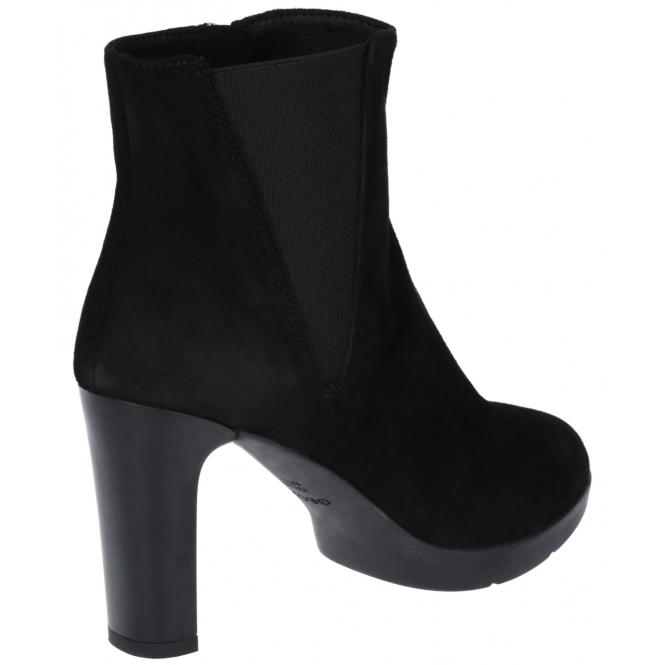 plutôt sympa 690c6 0955b ANNYA Ladies Suede Ankle Boots Black