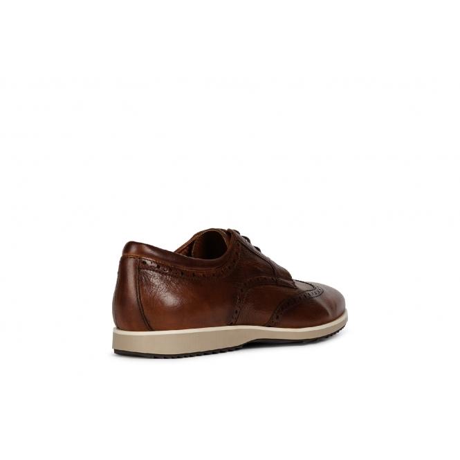 kostengünstig 60% günstig attraktiver Preis BLAINEY Mens Leather Oxford Shoes Cognac