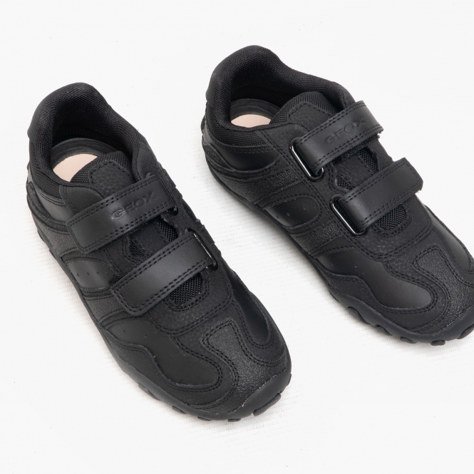 GEOX CRUSH M Boys Leather School Shoes