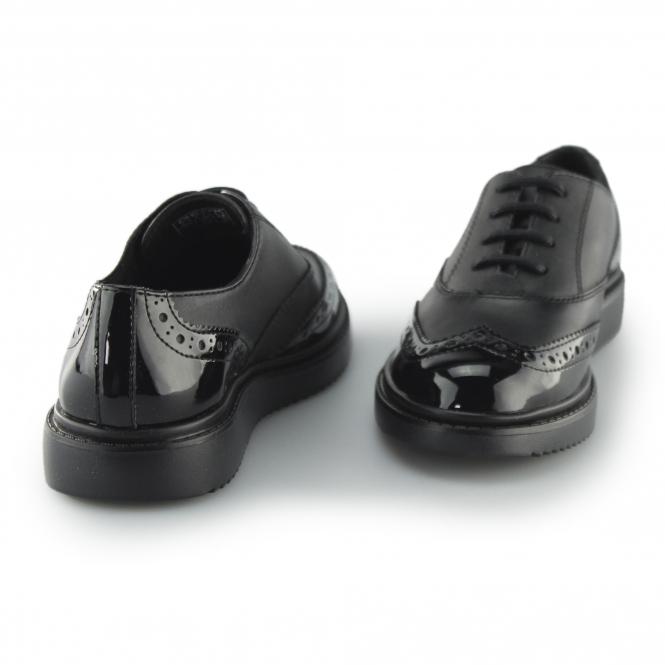 Geox J THYMAR G E Girls Leather Brogue