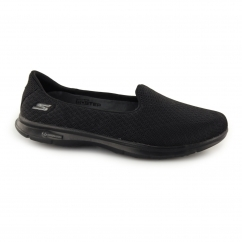 Skechers GO STEP - ELATED Ladies Slip On Sports Flats Black