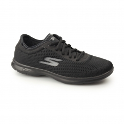 GO STEP - SPORT Ladies Sports Trainers Black