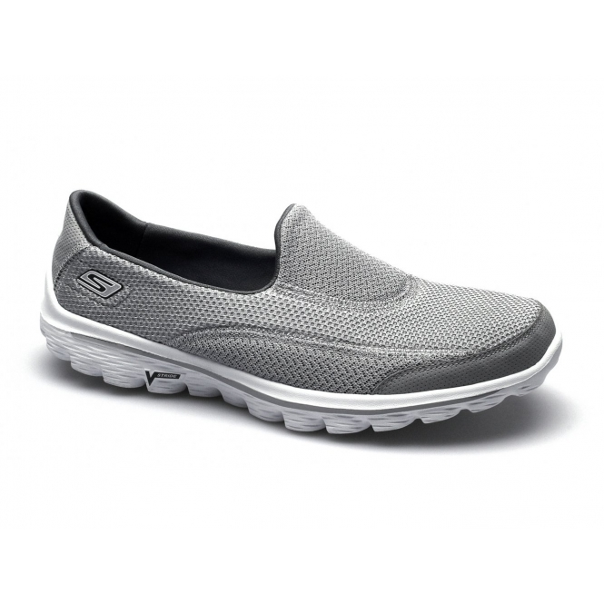 e4ad89de7526c Buy skechers go walk 2 ladies > OFF75% Discounted skechers go walk 2 ladies  grey