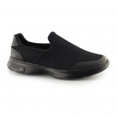 Skechers GO WALK 4-INCREDIBLE Mens Sports Shoes Black
