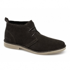 GOBI PREMIUM Mens Suede Leather Desert Boots Brown Stone